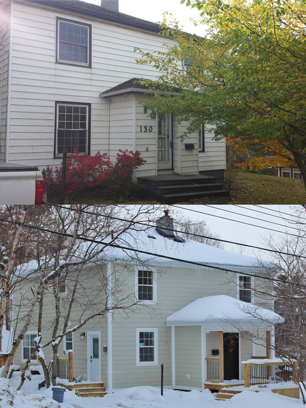 Before And After Premier Siding And Window Sales